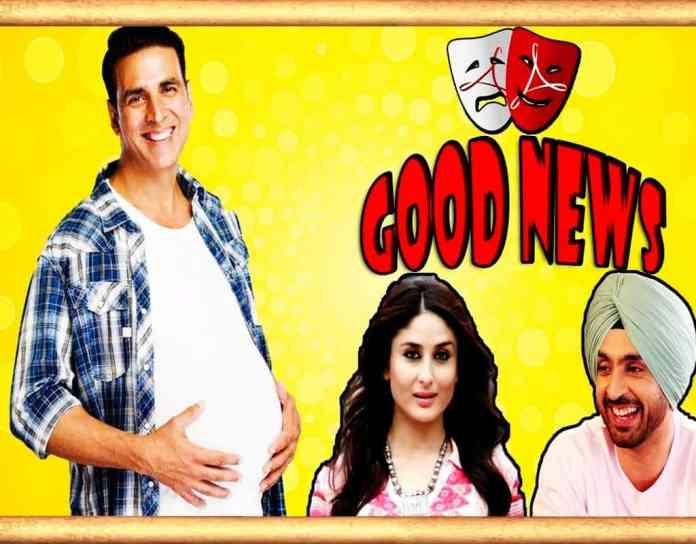 Kareena Kapoor and Akshay Kumar New Movie Good News
