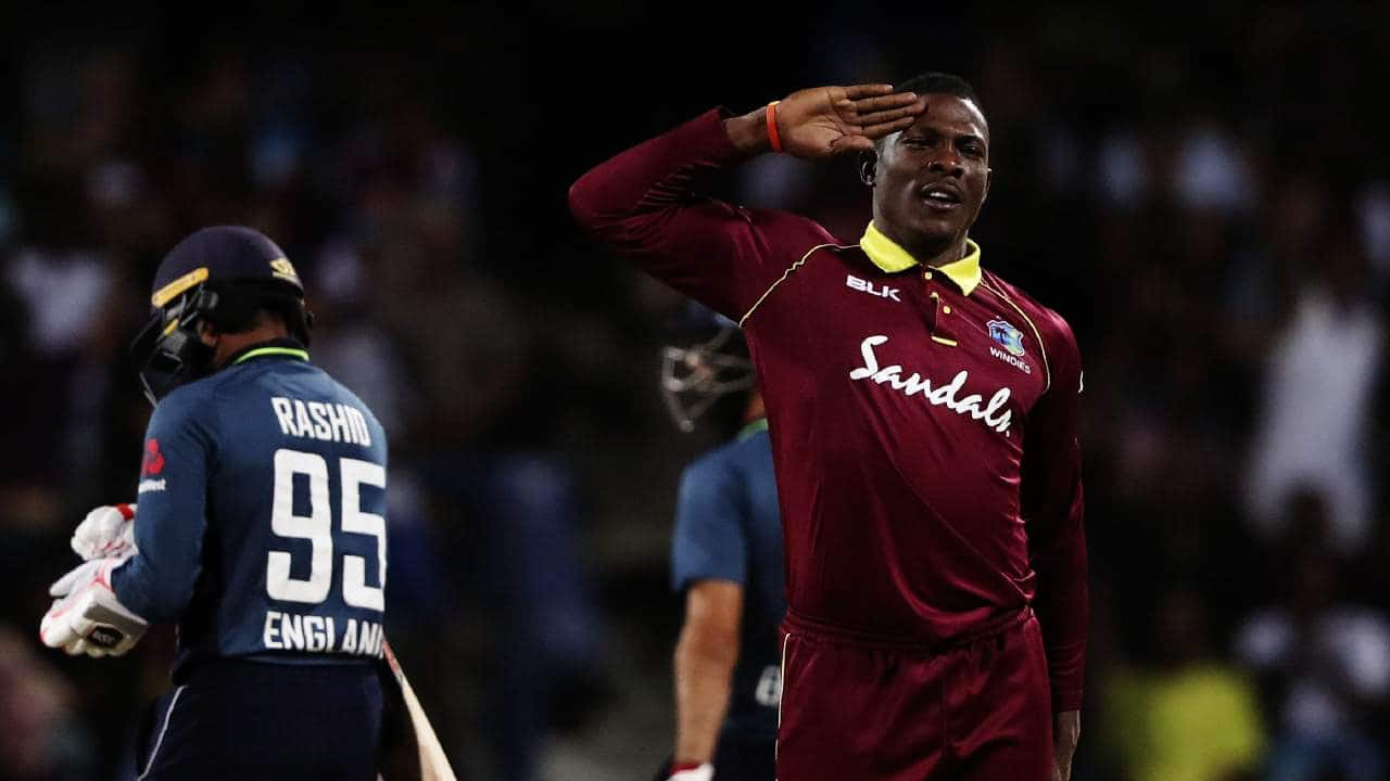 West Indies vs England Second ODI