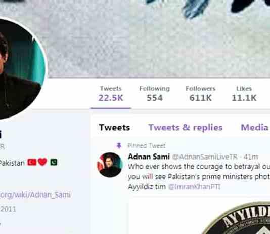 Adnan Sami Twitter hack