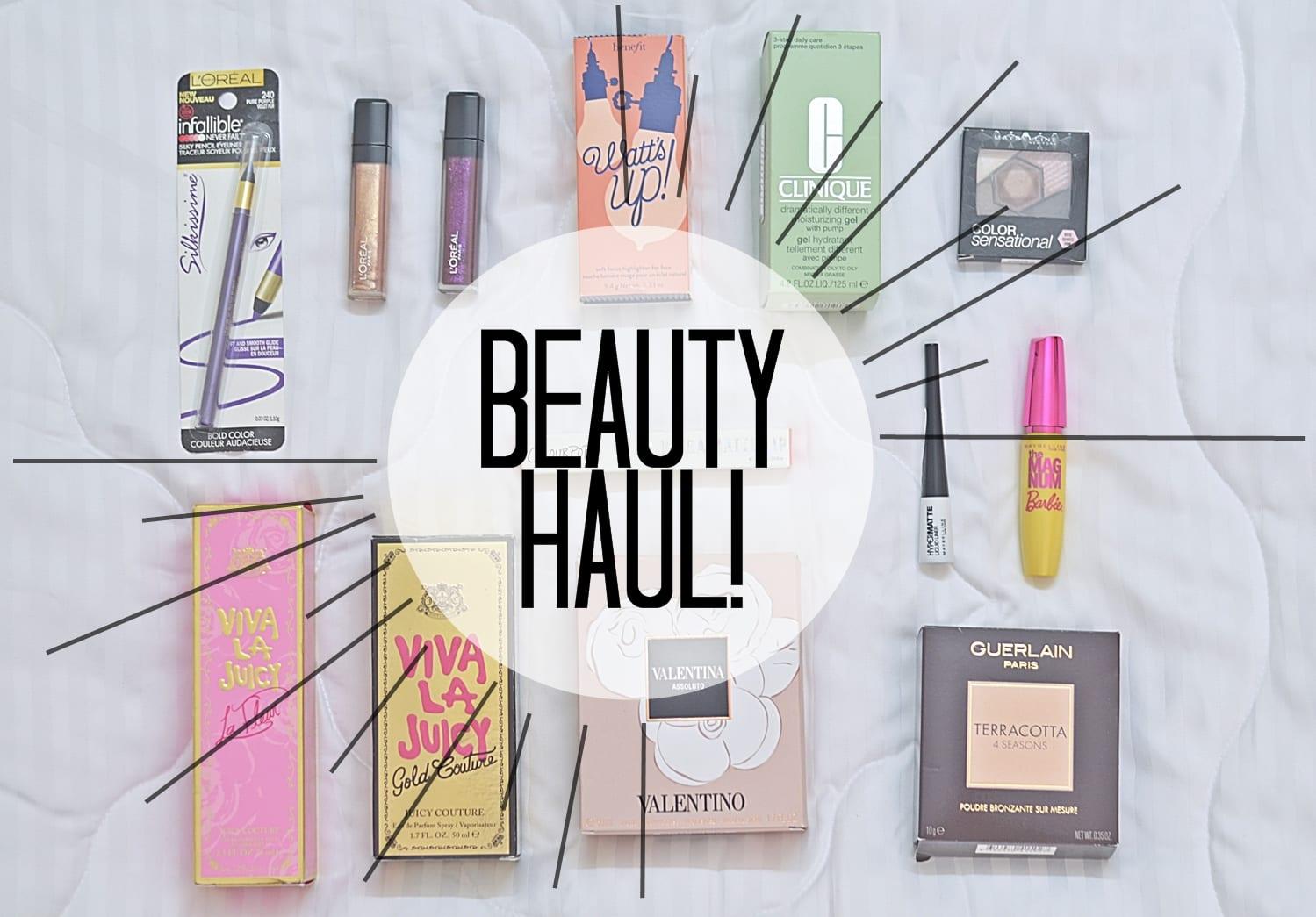 Makeup-Beauty-haul