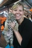 My six-week-old baby tiger cub