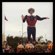 Big Tex in Dallas (RIP)