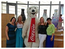 The Famous Coca-Cola Polar Bear