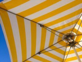 Yellow Stripey Umbrella