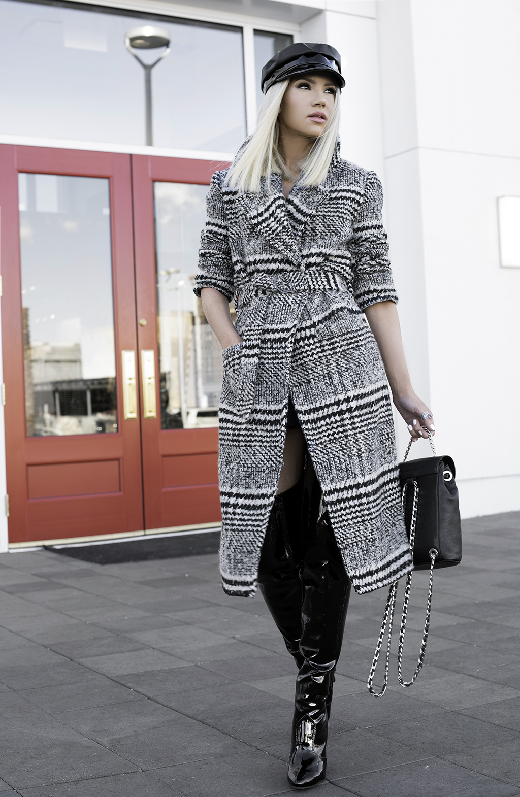 Patent & Houndstooth