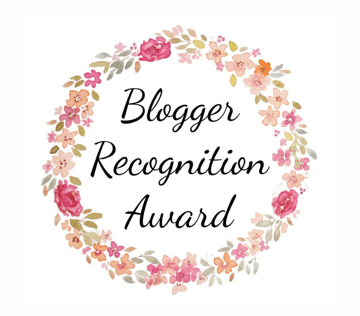 The Blogger Recognition Award