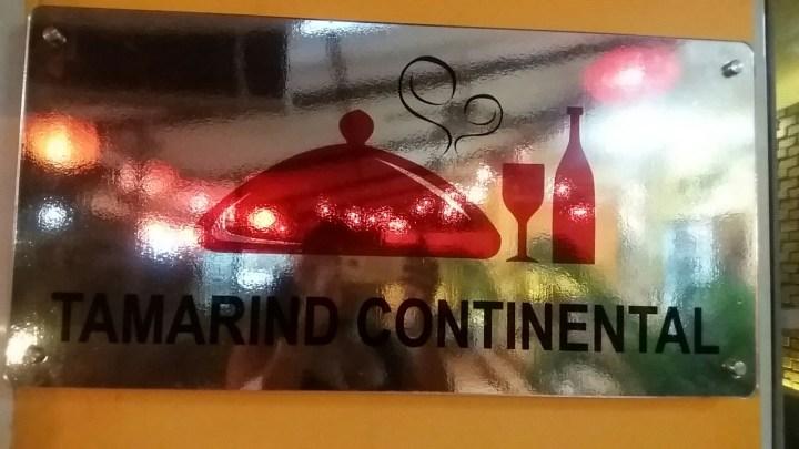 FOOD: Tamarind Continental