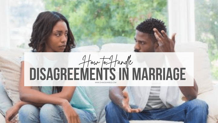 How to Handle Disagreements in Marriage