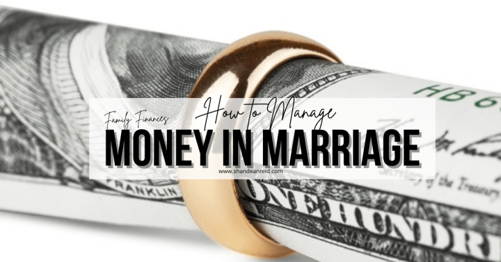 How to Manage Money in Marriage