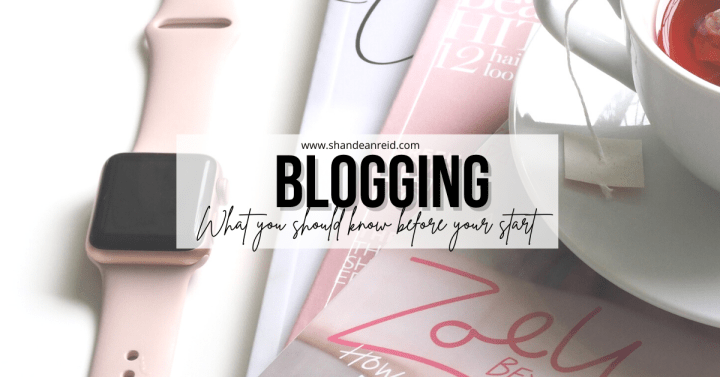 Blogging : What You Should Know Before You Start