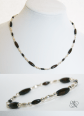 Wood & Silver Collection: Wooded Droplets