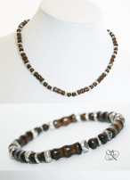 Wood & Silver Collection: Rooted Silver