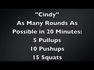 CrossFit Cindy Score Needs Improvement