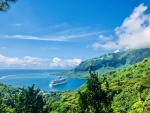 Crossing the Pacific Ocean