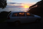 Driving around New Zealand in a microvan