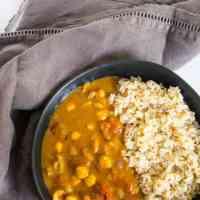 Easy Vegan Chickpea Curry