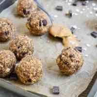 Peanut Butter Protein Energy Bites (Vegan, Gluten-Free)