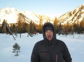 Mark likes the scenery