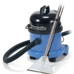 Small neumatic machine is ideal for diy carpet cleaning.