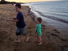 boys on the beach phillip island