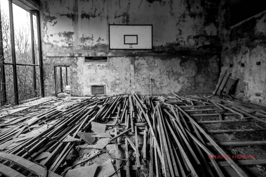 The gym, Pripyat, Ukraine