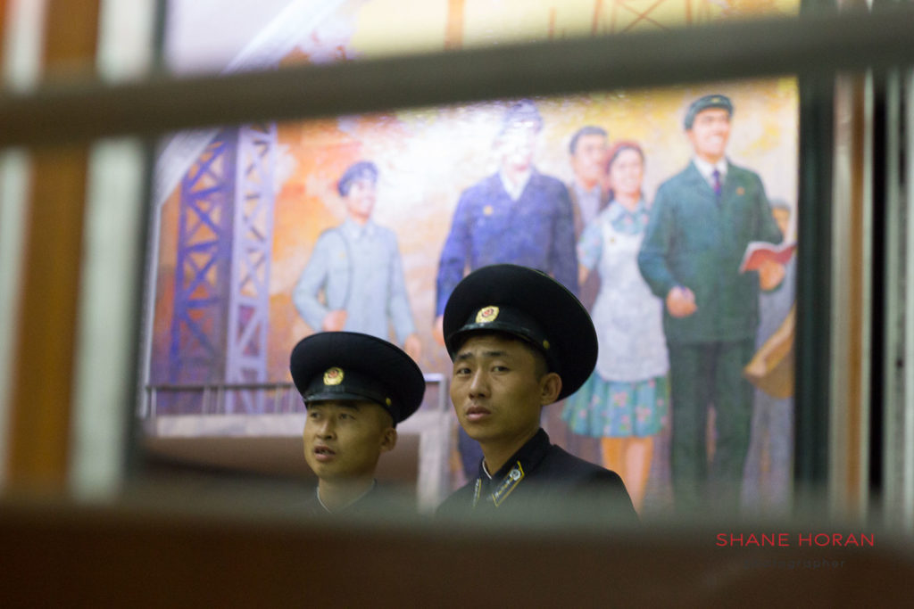 Metro conductors, Pyongyang, North Korea