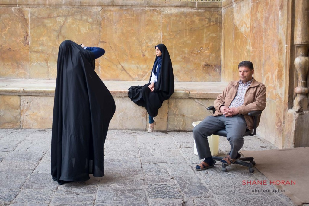 Street photo shoot in Isfahan, Iran