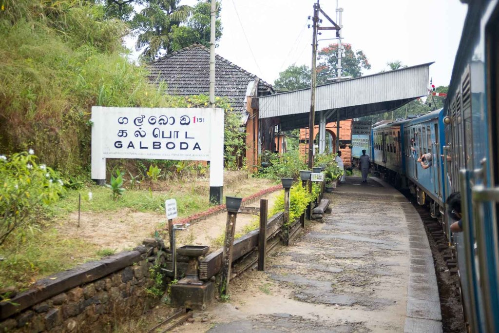 Galboda station, Sri Lanka