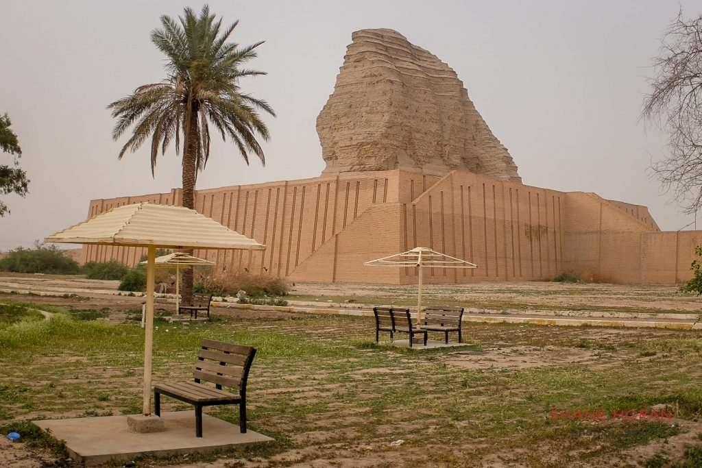 Agargouf at Abu Ghreib, restored site in Iraq