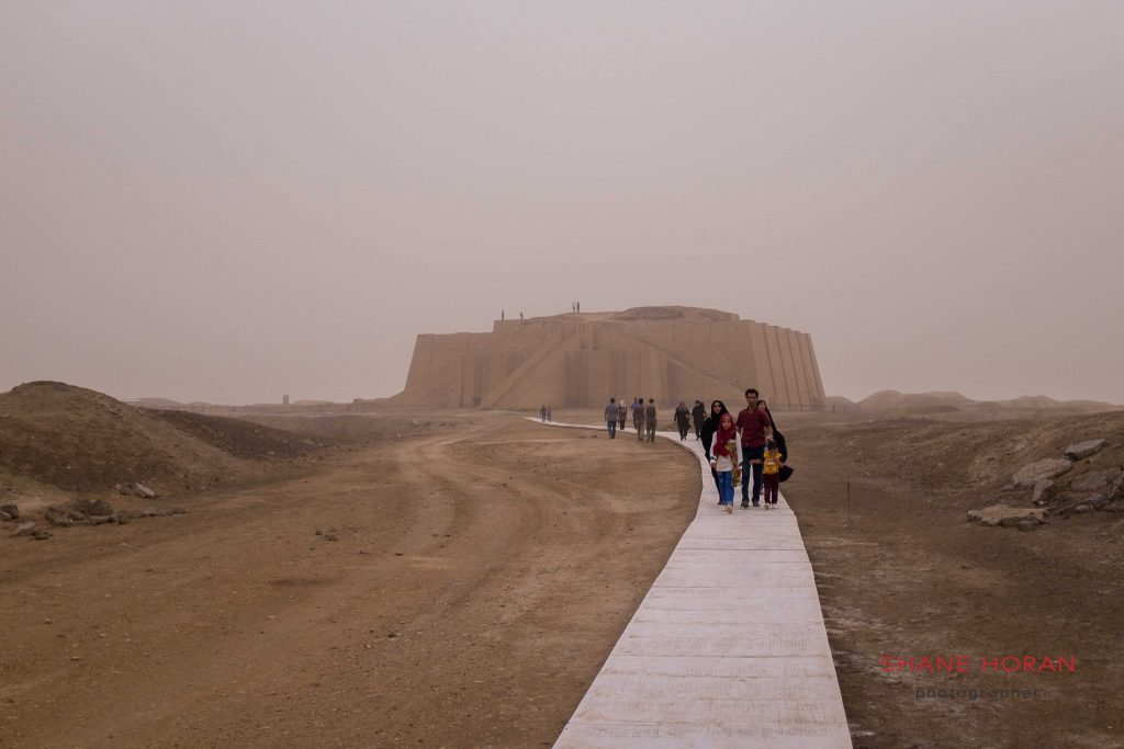 The Ziggurat of Ur, Iraq