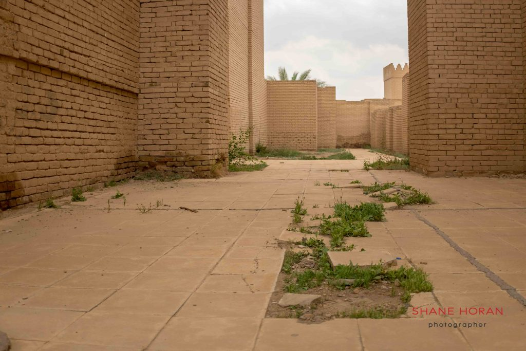 Neglected Babylon, Iraq.