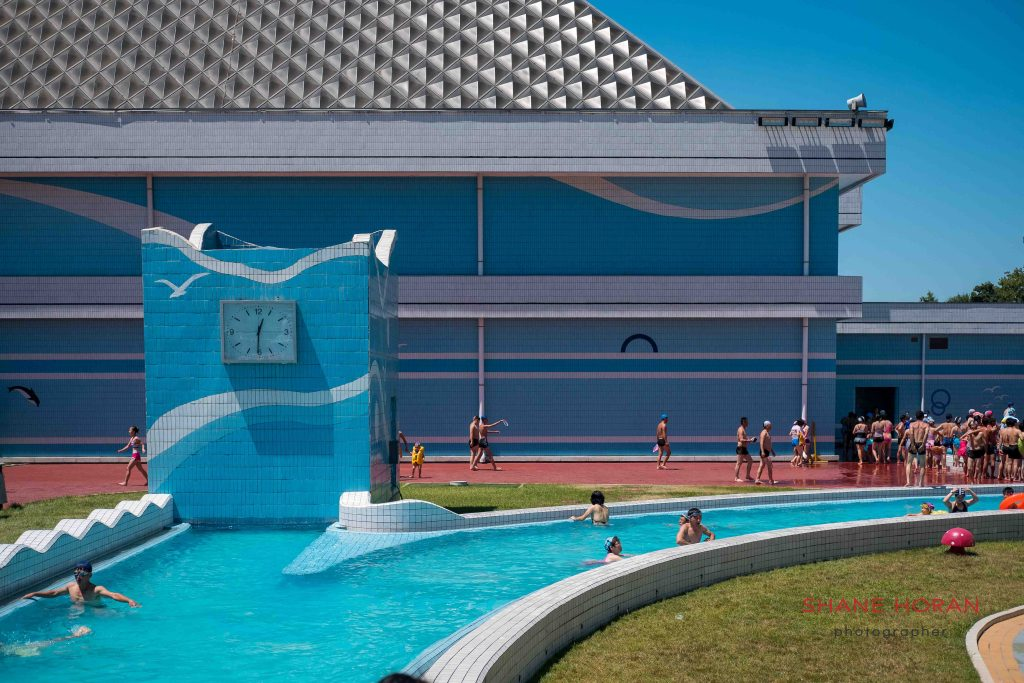 The paddle pool, Munsu water park, Pyongyang, North Korea.
