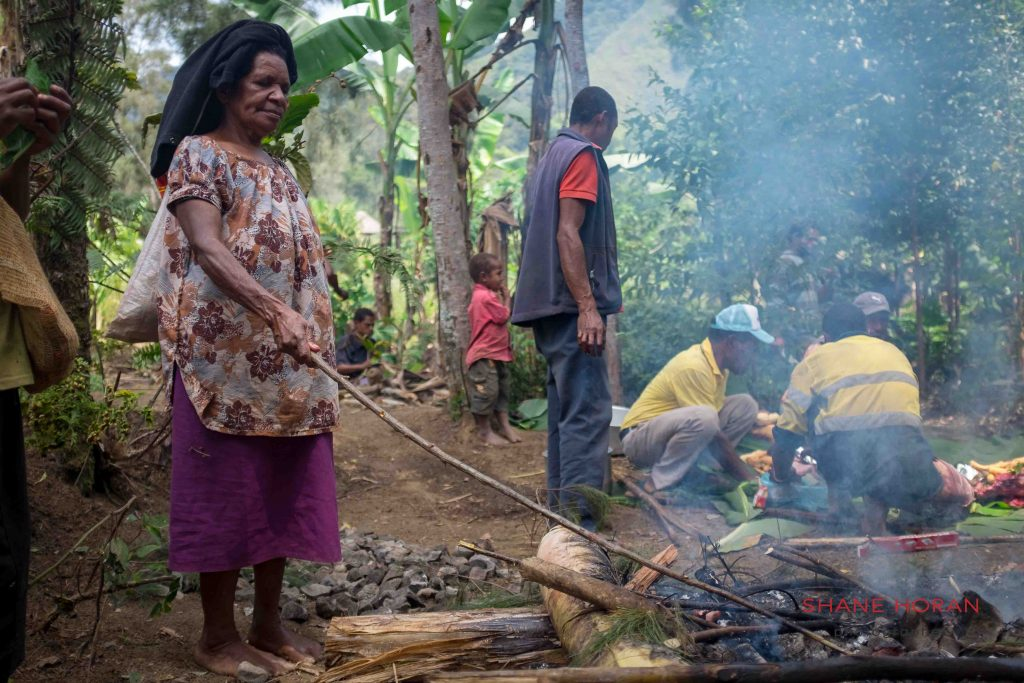 Lunchtime, Papua New Guinea