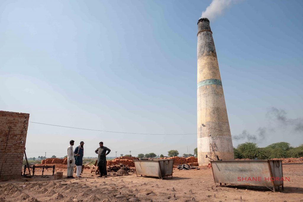 Hotting up at a brick factory, Pakistan