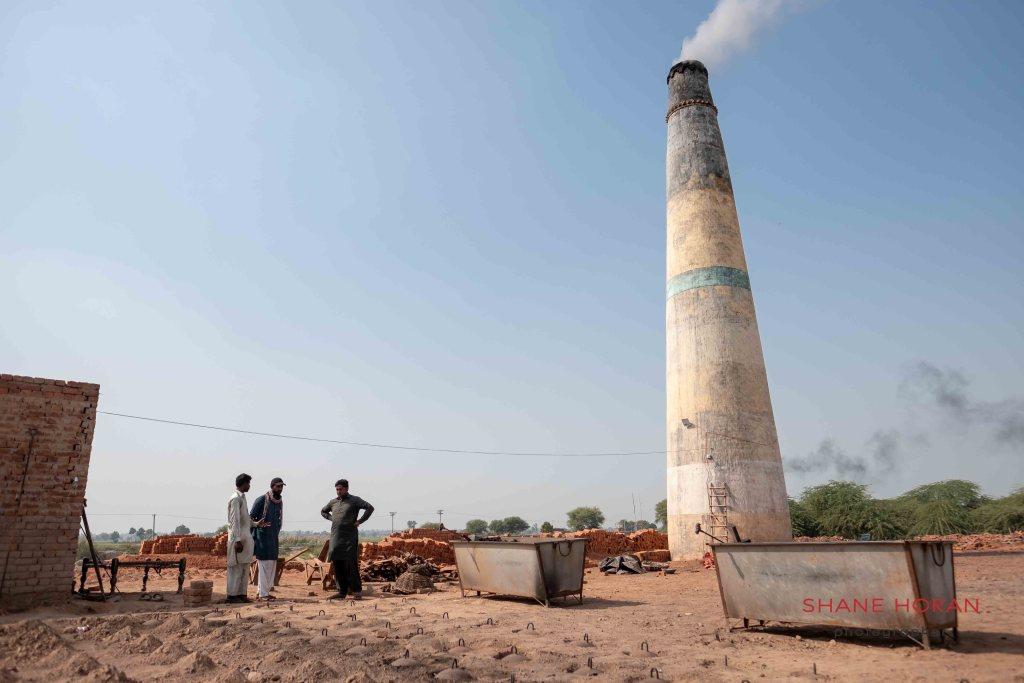 Hotting up at a brick factory, Pakistan