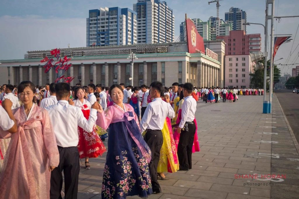 Mid Mass Dance, Pyongyang, North Korea