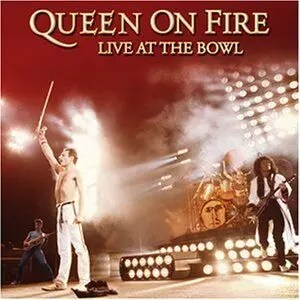 On fire at the Bowl - Queen