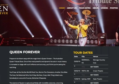 Queen Forever – Australian Queen Tribute Band
