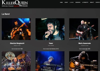 Killer Queen Italia – Italian Queen Tribute Band