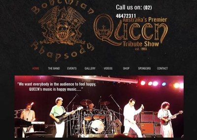 Bohemian Rhapsody – Australian Queen Tribute Band