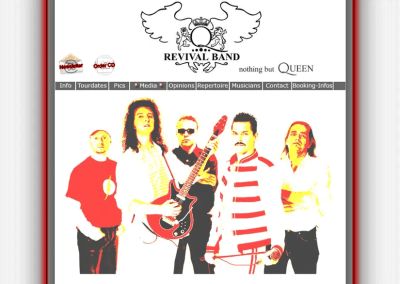 Q-Revival – German Queen Tribute Band