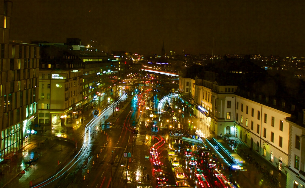 View from the Radisson Blu Skybar