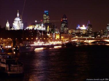 The Thames looking East, London, United Kingdom