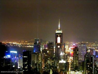 Hong Kong Skyline from Mount Victoria, Hong Kong, China
