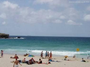 Christmas Day on Bondi, New South Wales, Australia Christmas Day Down Under is best spent on Bondi Beach.