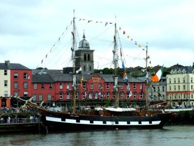 The Jeanie Johnston - Famine Ship, Waterford, Ireland