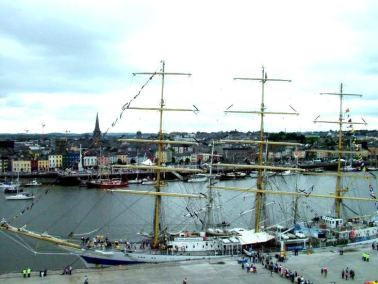 Mir, Russian Tall Ship, Waterford, Ireland