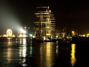The Tall Ships on the Suir, Waterford, Ireland