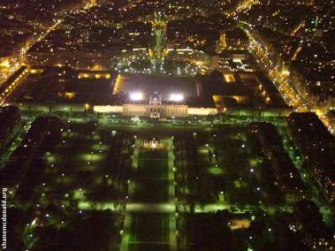 Ecole Militaire by Night, Paris, France