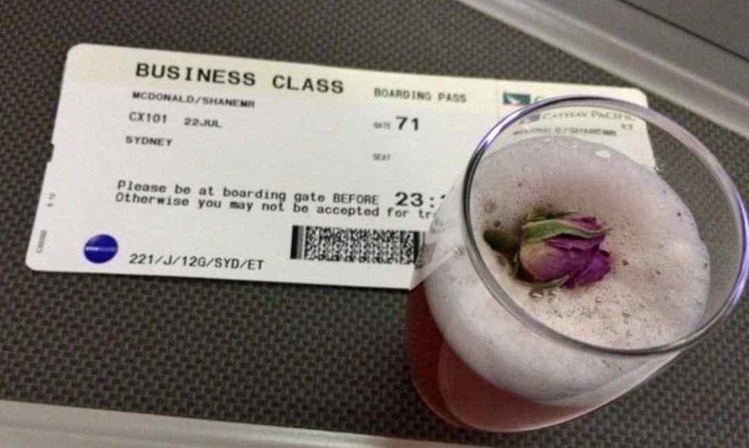 Cathay Pacific Business Class – Hong Kong to Sydney
